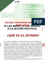 El Estado en El Perú