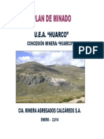 Plan de Minado 2014 HUARCO