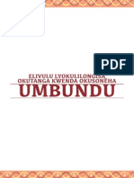 Manual de Alfabetização em Umbundu