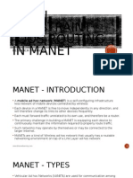 New Multi-QoS Routing in MANET Research Proposal