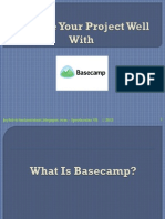 Manage Your Project Well With Basecamp