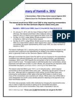 Case Summary Flyer