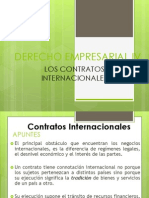 CONTRATOS INTERNACIONALES 2015