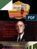 Mass Comunication Research