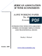 American Association of Wine Economists
