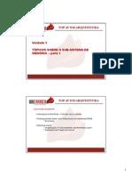 Material de Aula TOPAv ARQ Unidade 3 Subsistema Memoria 2015 1