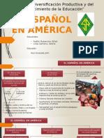 El Español en America