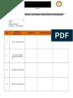 Daftar Asistensi Dosen Laporan Praktikum Mekanika Tanah