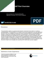 Uxp100 Sap Fiori Overview