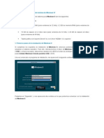 Manual de Instalacion Windows 8 V