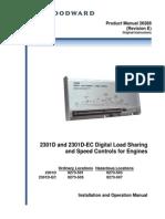 2301D and 2301D-EC Digital Load Sharing 26288_E