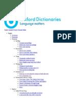 Grammar a-Z - Oxford Dictionaries