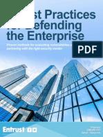 Entrust_Top 5 Enterprise Cybersecurity Best Practices