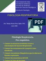 Fisiología Respiratoria.