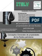 Conceptos Generales de propiedades de los fluidos petroleros