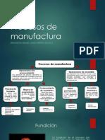 Procesos de Manufactura Brandon Mascareño