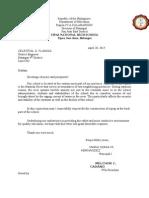 Transmittal Letter for SDP - Copy