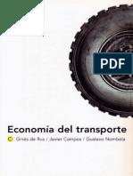 Economia Del Transporte
