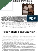 Analiza Chimica a Sapunului