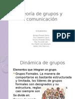 Teoría de grupos y Comunicación