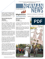 Newman News June 2015 edition