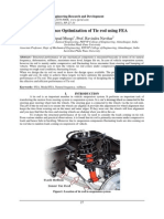 Performance Optimization of Tie rod using FEA