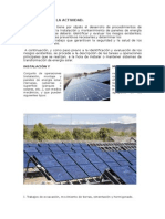 Mantenimiento de Los Sistemas Solares Fotovoltaicos