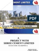 Shreecementpresentation on diversion and cost saving by unconventional methods