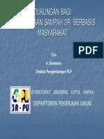 dukunganbagipengelolaansampah3rberbasismasyarakat-120623042136-phpapp02