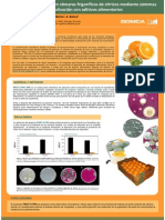 Control microbiológico en cámaras frigoríficas de cítricos mediante sistemas de nebulización con aditivos alimentariosPOSTER Post Cosecha Valencia-1 [Modo de Compatibilidad]