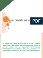 Taxonomía de Flynn-expo