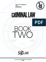 UP Law Criminal Law Reviewer 2013 - Book 2