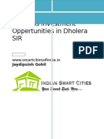 Business Investment Oppertunities in Dholera SIR