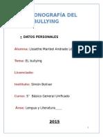 Monografia Del Bullying