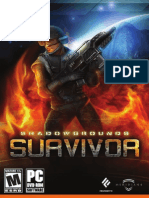Shadowgrounds Survivor - User's Guide UK