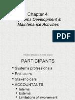 IT AUDIT - Systems Development and Maintenance Activites