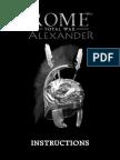 Manual Rome Total Alexander - UK