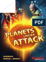 Planets under Attack - Manual ENG-FR-GER