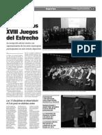 150529 La Verdad- La Línea Presenta Los XVIII Juegos Del Estrecho