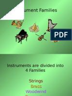 Instrument Families Tutorial
