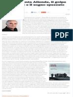 Bitar racconta Allende, il golpe di Pinochet e il sogno spezzato del Cile