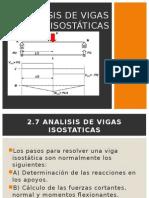 Analisis de Vigas Isostã-ticas