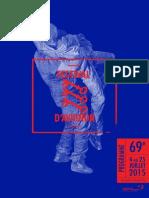 Programme Avignon 2015
