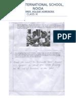 227072_summer Holiday Homework Classes Xi - Xii