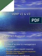 SNMP V2 AND V3