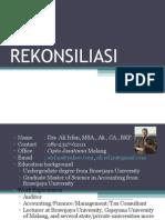 REKONSILIASI FISKAL