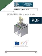 CMPS03 - Mise en Service Du Robot