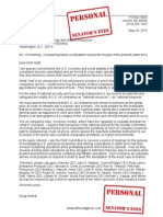 29 May 2015 Letter to Senate Committee on Energy & Natural Resources (PERSONAL)