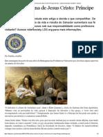 A Missão Divina de Jesus Cristo_ Príncipe Da Paz - Liahona Dezembro de 2014 - Liahona