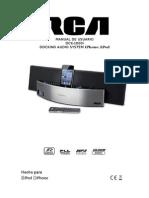 Manual - Rca Dck1000-i